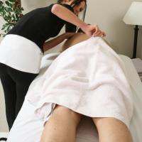 Massage girl pussy stretched by big cock