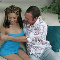 Aaliyah getting spanked
