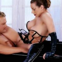 Hot sexy dominatrix